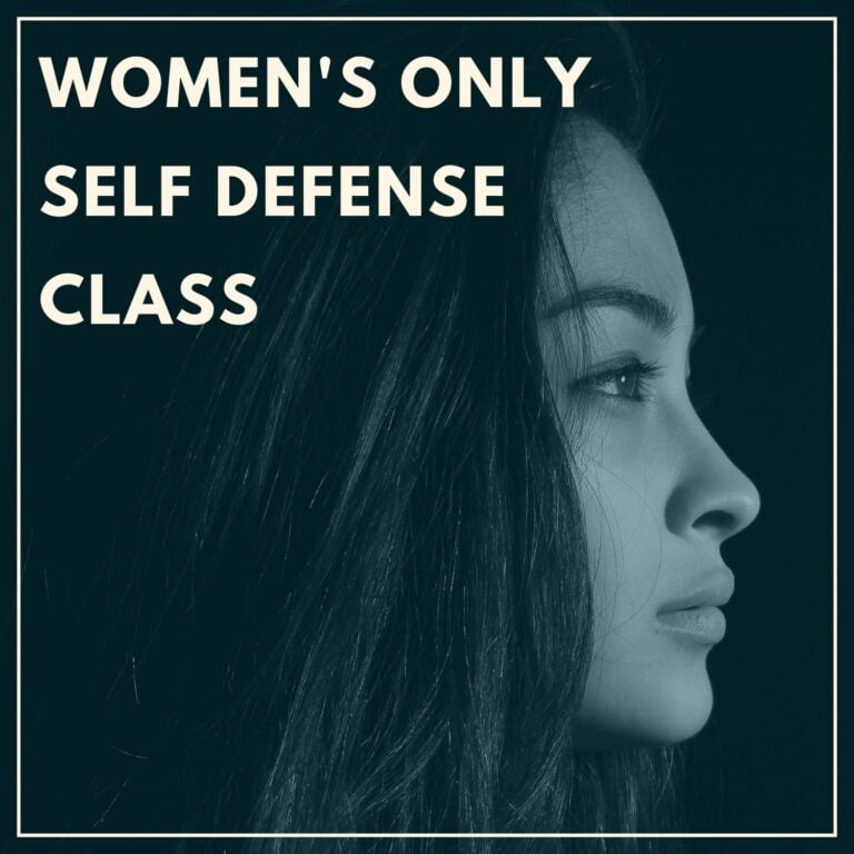 Women's Only Self Defense Class