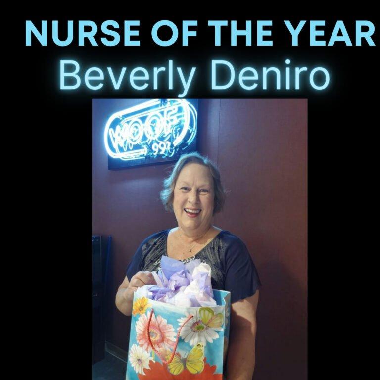 Nurse of Year: Beverly Deniro