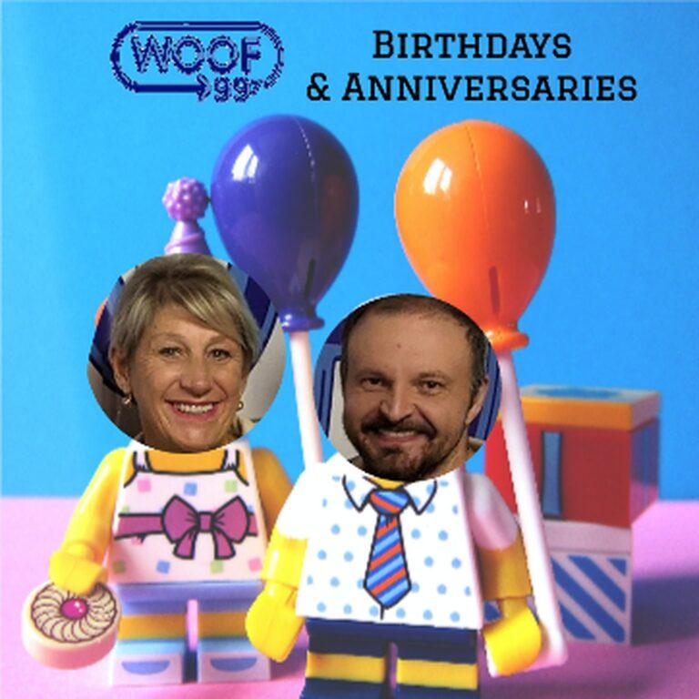 05/07/21 WOOF Birthdays & Anniversaries